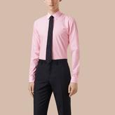 Burberry Slim Fit Striped Cotton Poplin Shirt