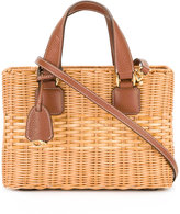 Mark Cross basket tote bag