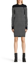 AllSaints Ash Striped Knit Dress