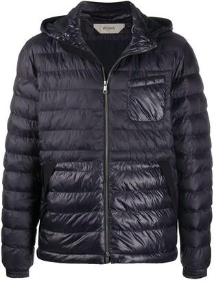 Ermenegildo Zegna Chest Pocket Padded Jacket