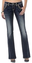 Miss Me Women's Trouser Front Pocket Boot Cut Jean