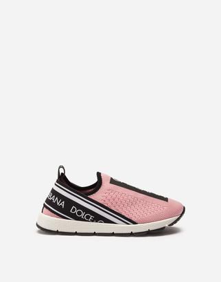 Dolce & Gabbana Sorrento Slip-On Sneakers With Logo Tape