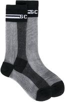 Gcds - sheer socks - women - Cotton/Polyamide - One Size