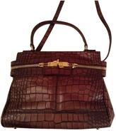 Max Mara Leather Crossbody Handbag