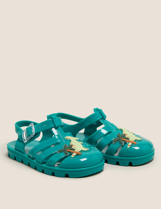 Marks and Spencer Kids' Dinosaur Jelly Shoes (5 Small - 12 Small)