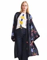 Cynthia Rowley Silk Floral Kimono
