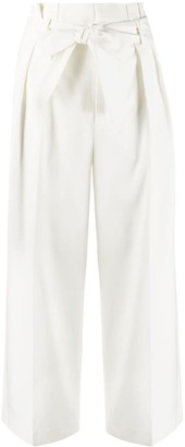 RED Valentino Paperbag Cropped Trousers