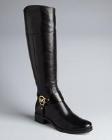 MICHAEL Michael Kors Harness Riding Boots - Fulton