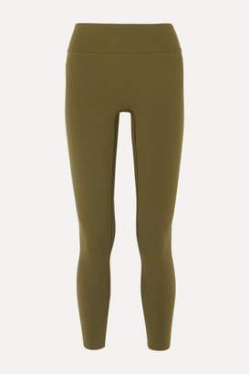 Reebok x Victoria Beckham Stretch Leggings - Army green