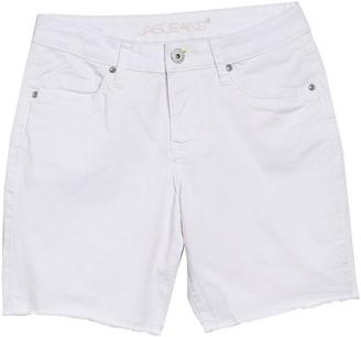 Jag Jeans Drew Boyfriend Fit Raw Hem Shorts