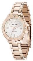 Sector Women's R3253250503 Marine Analog Display Quartz Rose Gold Watch