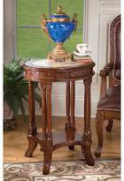 Toscano Balfour Colonnade End Table with Storage Design