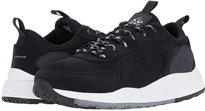Columbia Pivot Waterproof (Black/White) Men's Shoes