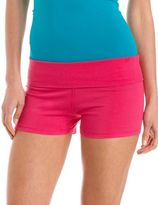 Charlotte Russe Fold-Over Waist Yoga Short
