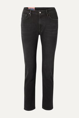 Acne Studios Melk High-rise Skinny Jeans - Black