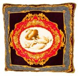 Versace Fringed Throw Pillow