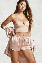 Forever 21 Contemporary Satin Shorts