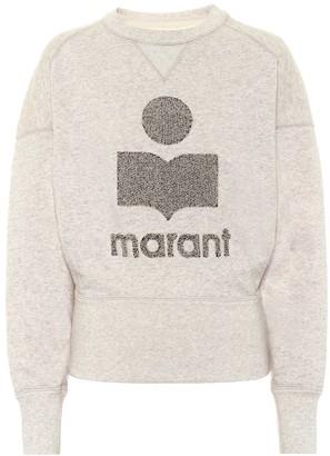 Etoile Isabel Marant Teloya cotton-fleece sweatshirt
