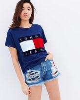 Tommy Hilfiger 90s High Waist Denim Shorts