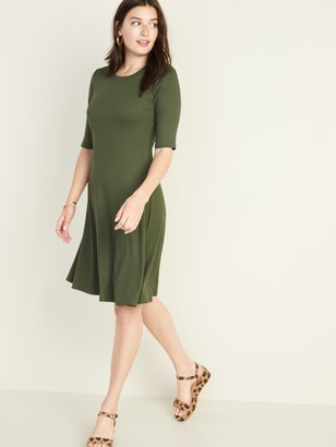 Old Navy Rib-Knit Swing Dress for Women