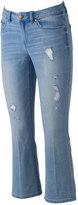 Lauren Conrad Women's Bootcut Kick Crop Jeans
