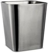 Threshold Wastebasket Rounded Square Brushed Nickel