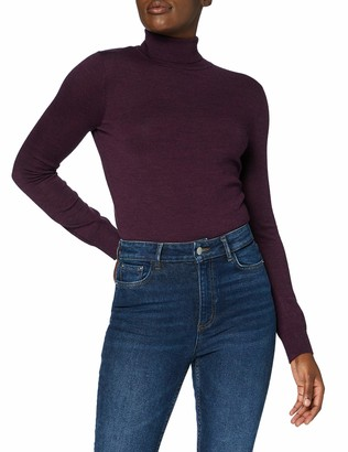 Meraki Women's Fine Merino Wool Turtle Neck Jumper