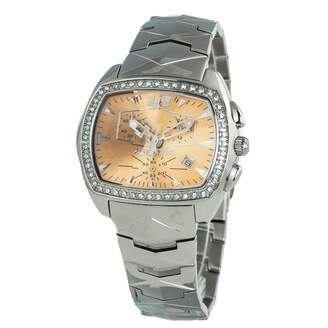 Chronotech Womens Analogue Quartz Watch with Stainless Steel Strap CT2185LS-06M