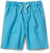 Gap Twill pull-on shorts