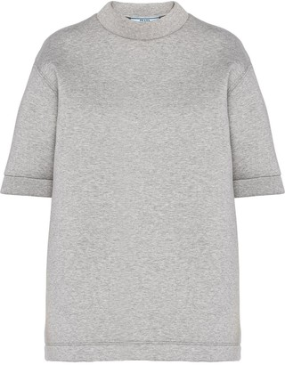 Prada double jersey T-shirt