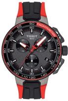 Tissot Men's T-Race Tour De France Chronograph Silicone Strap Watch, 45Mm