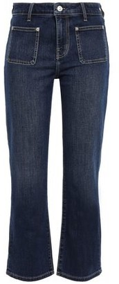 Current/Elliott Cropped High-rise Bootcut Jeans