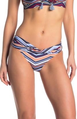 Mossimo Sash Waist Printed Bikini Bottoms