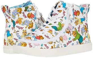 BILLY Footwear Kids Classic Lace High Arthur Friends (Little Kid/Big Kid) (All Over Print) Kid's Shoes
