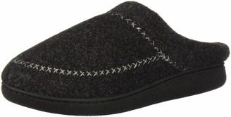 Dearfoams Women's Felt X-Stitch Clog Slipper