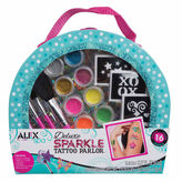 Alex Spa Delux Sparkle Tattoo Parlor 30-pc. Beauty Toy