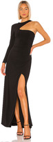 BCBGMAXAZRIA One Shoulder Gown