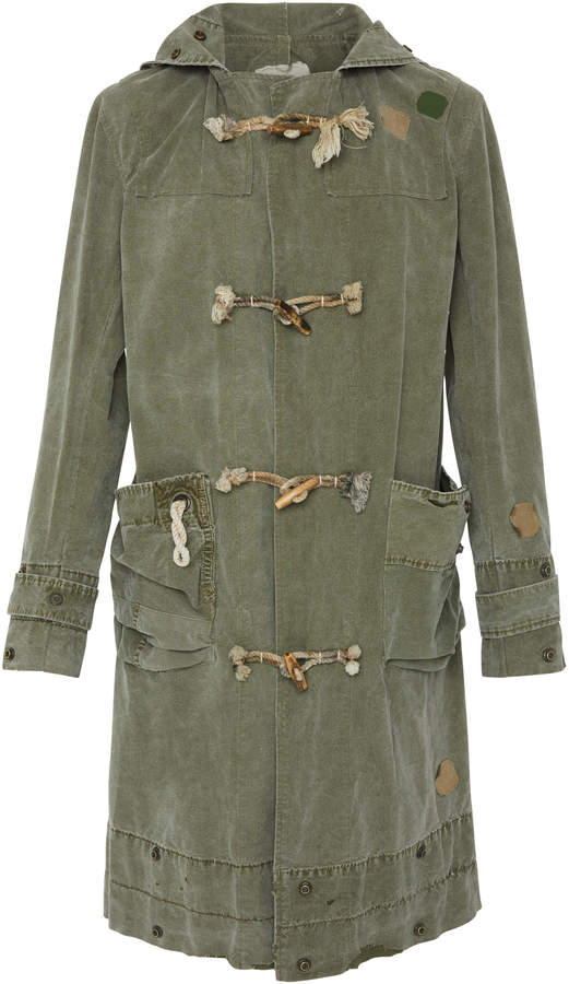 Greg Lauren Army Toggle Coat
