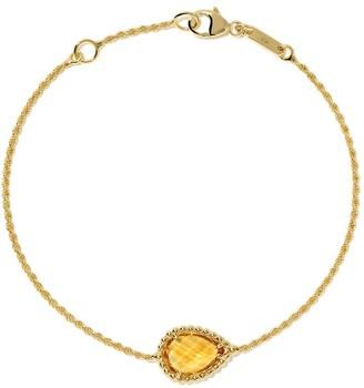 Boucheron 18kt yellow gold Serpent Boheme citrine S motif bracelet