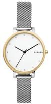 Skagen Women's Hagen Mesh Strap Watch, 34Mm