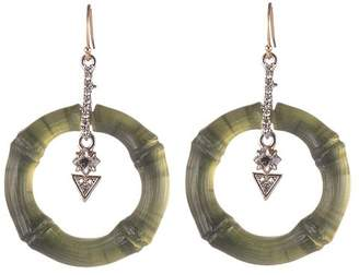 Alexis Bittar Bamboo Drop Earrings