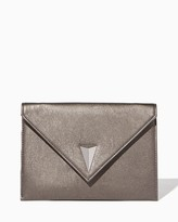 Charming charlie Geometric Envelope Crossbody Bag