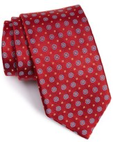 Robert Talbott Men's Geometric Medallion Silk Tie