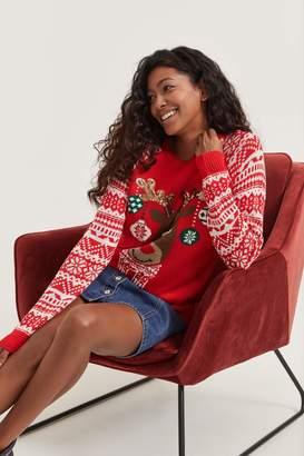 Ardene Ugly Xmas Reindeer Sweater