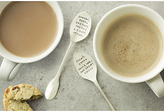 The Cutlery Commission Silver-Plated Personalised Teaspoon Set