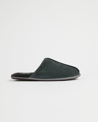 Ted Baker Leather Mule Slippers