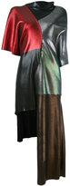 Christopher Kane laminated patch dress