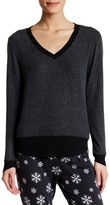 LOVE+GRACE Soft Cozy V-Neck Sweatshirt