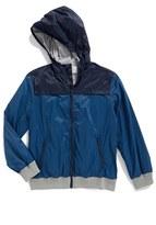 Boy's Tucker + Tate Pop Hooded Windbreaker Jacket