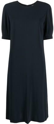 Aspesi Rolled Sleeve Dress